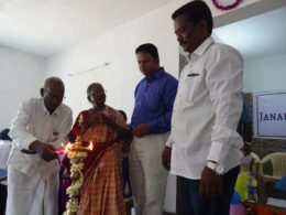 A proud moment for the parents of JR and of Venkat, in whose memory the Trust was founded in 2004.